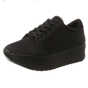 😍 VAGABOND CASEY Satin Wedge Platform Sneaker 8